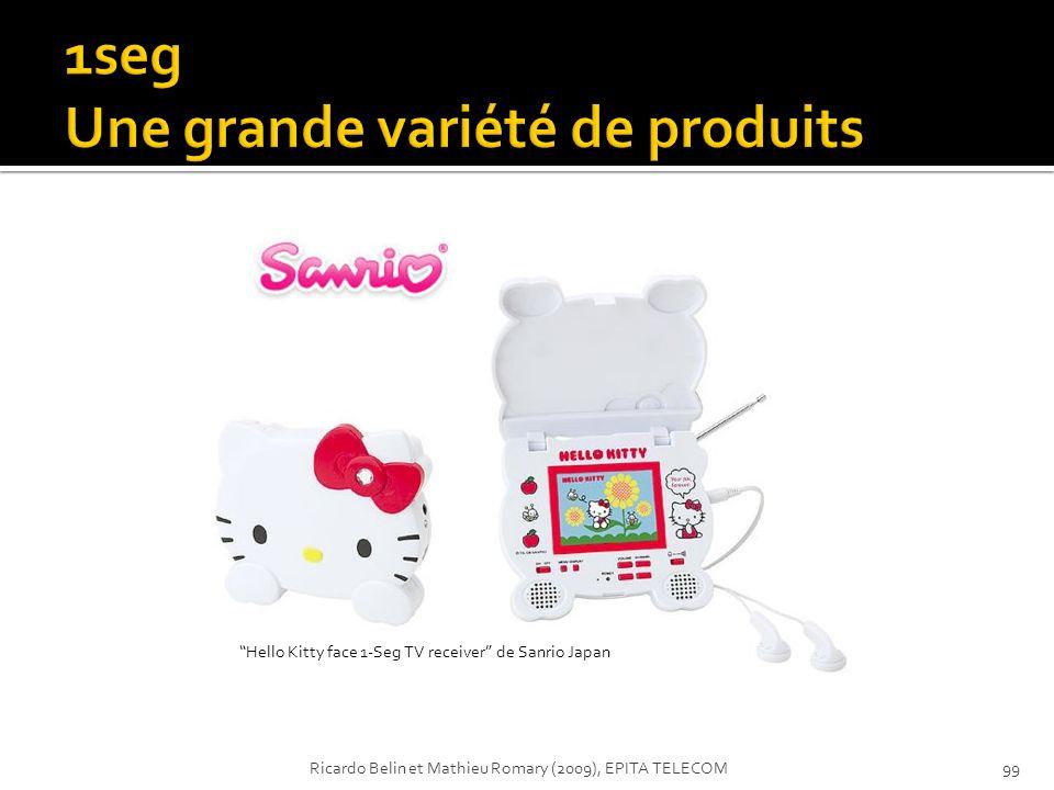 Hello Kitty face 1-Seg TV receiver de Sanrio Japan 99Ricardo Belin et Mathieu Romary (2009), EPITA TELECOM