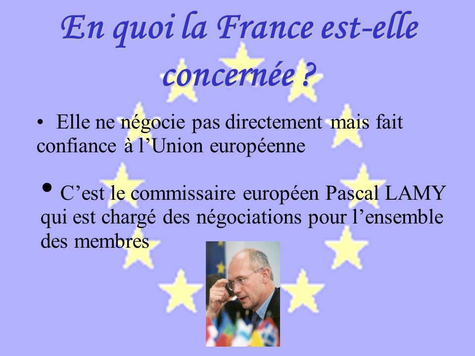 Une phase de négociations Toutes les négociations seront bilatérales puis multilatérales et prendront fin le 31 Décembre 2004.