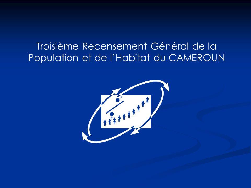 Troisième Recensement Général de la Population et de lHabitat du CAMEROUN
