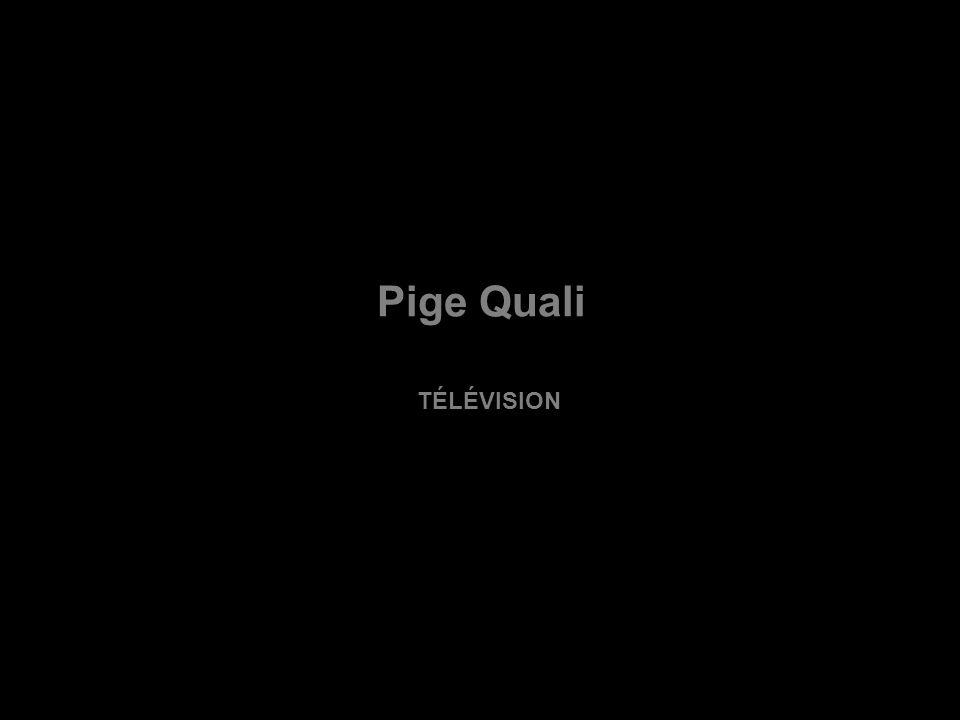 Pige Quali TÉLÉVISION