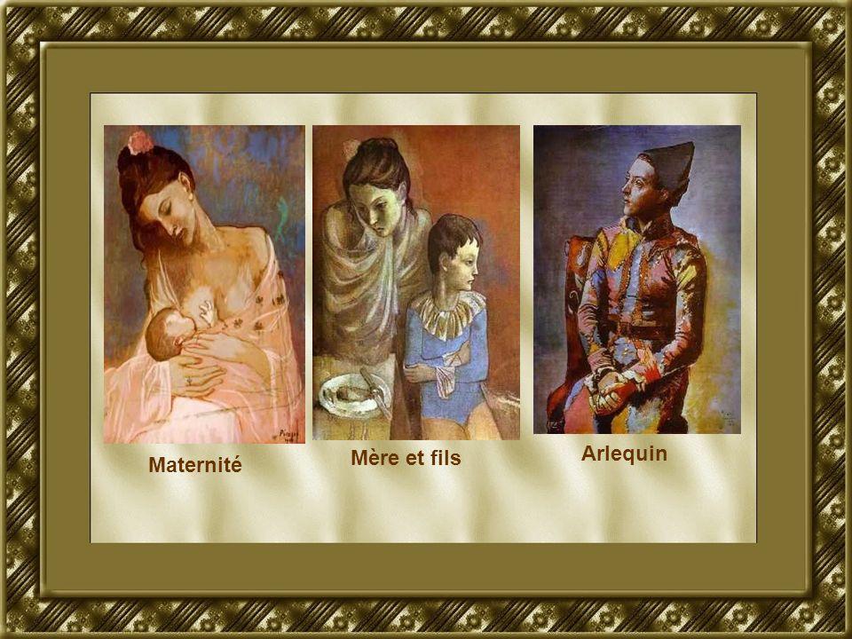 Maternité Mère et fils Arlequin