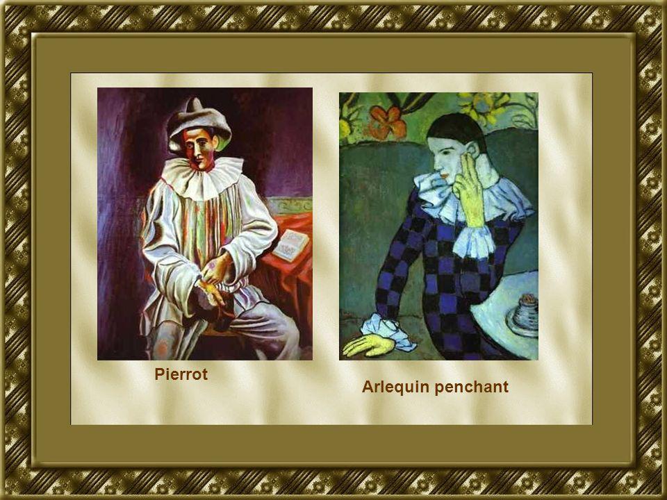 Pierrot Arlequin penchant