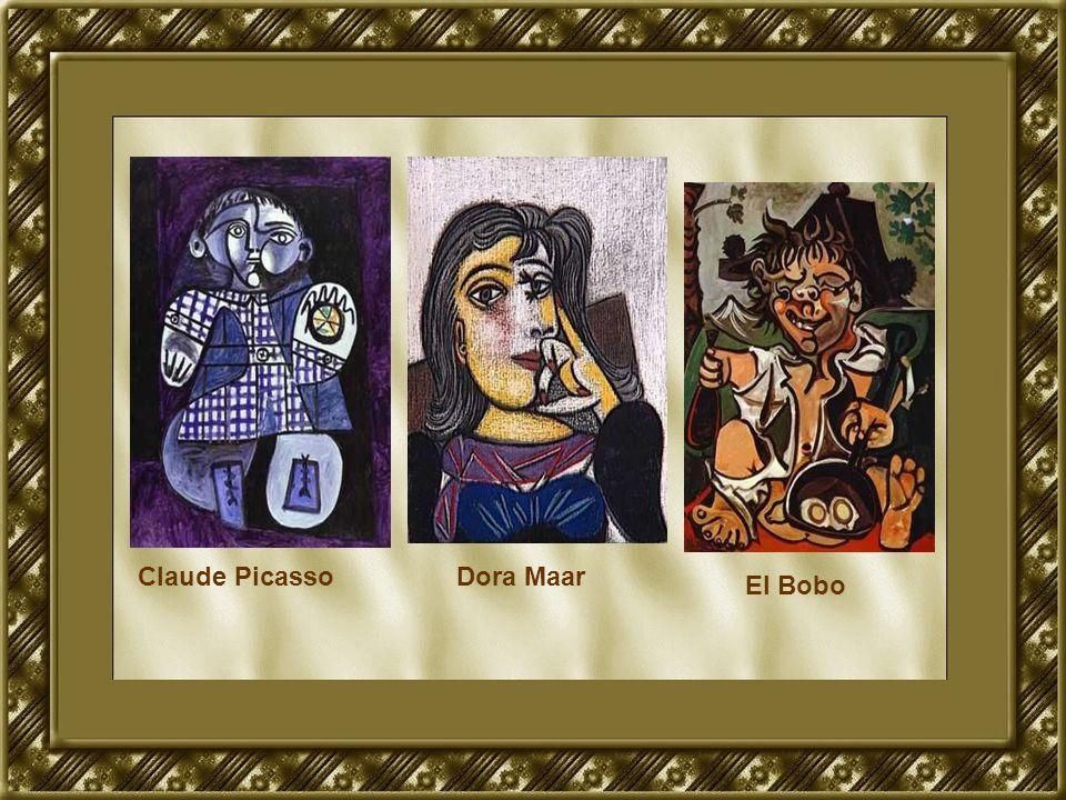 Claude Picasso Dora Maar El Bobo