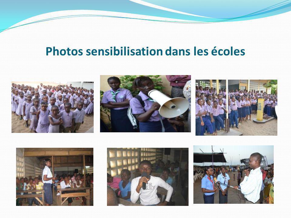 SPECTACLE DE LA NON VIOLENCE un spectacle a été organisé le 6 juillet 2012 à lEcole Primaire Publique du Port de Lomé à lintention des huit (8) écoles et associations denfants ayant participé à la phase de sensibilisation du projet.