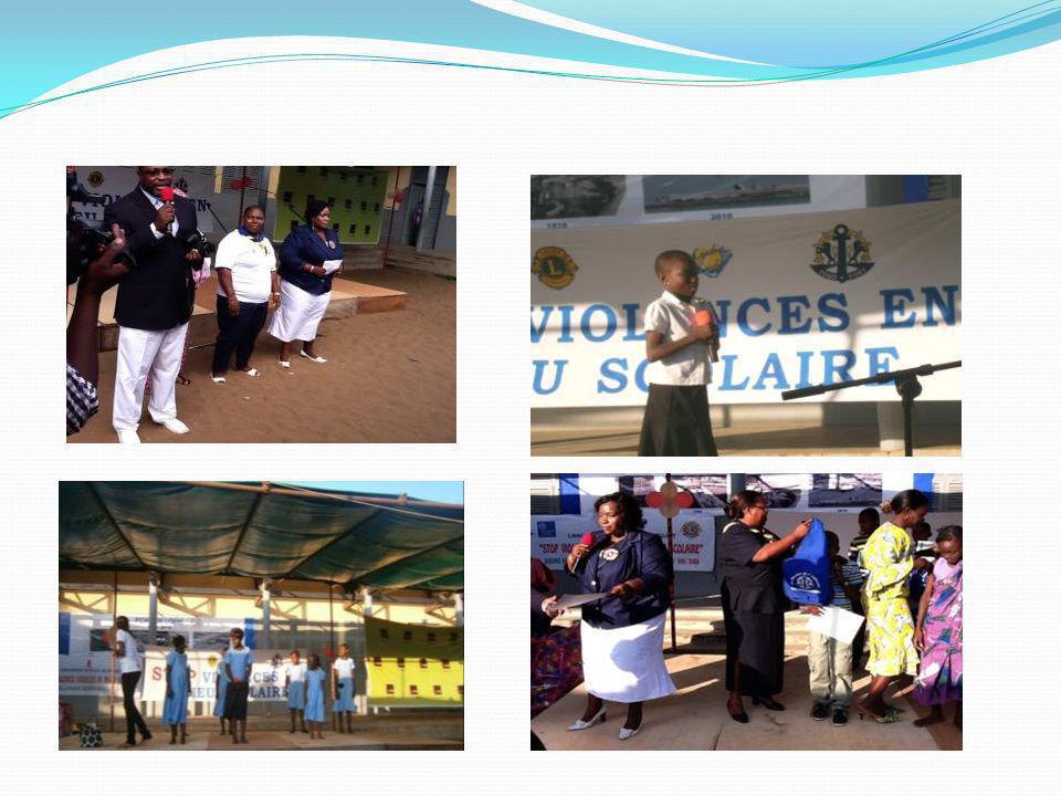 Remise de prix aux meilleurs élèves A lissu du spectacle le Port Autonome de Lomé a récompensé les 10 meilleurs élèves au CEPD, relevant du centre décrit de lEPP-PAL ainsi quà toutes les organisations qui ont participé à ce projet