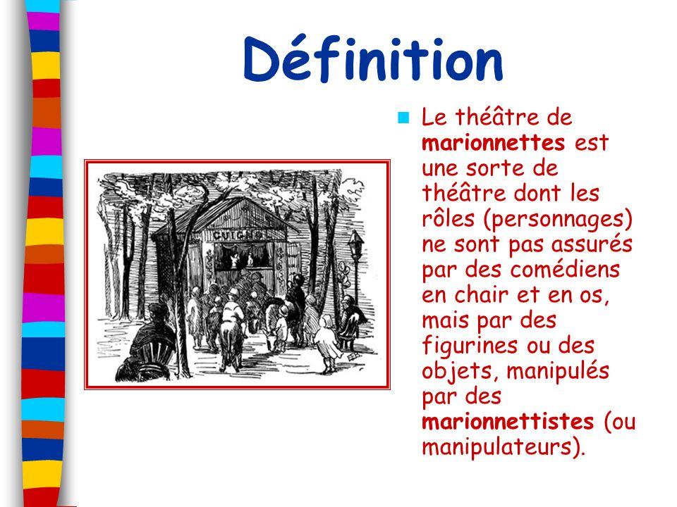 Le castelet Le mot castelet vient du moyen âge.