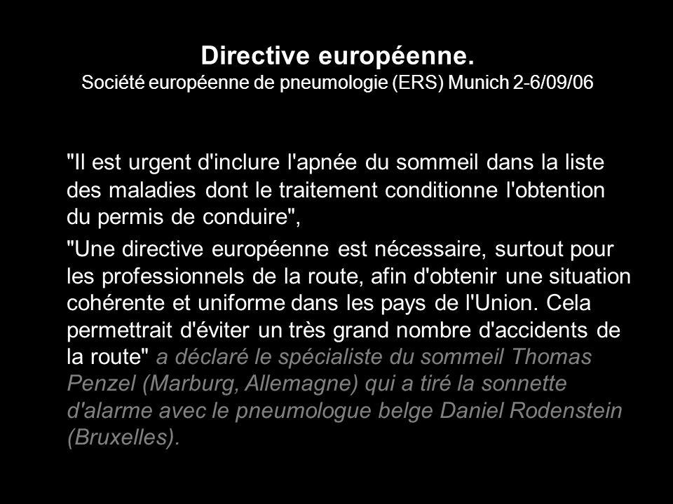 Directive européenne.