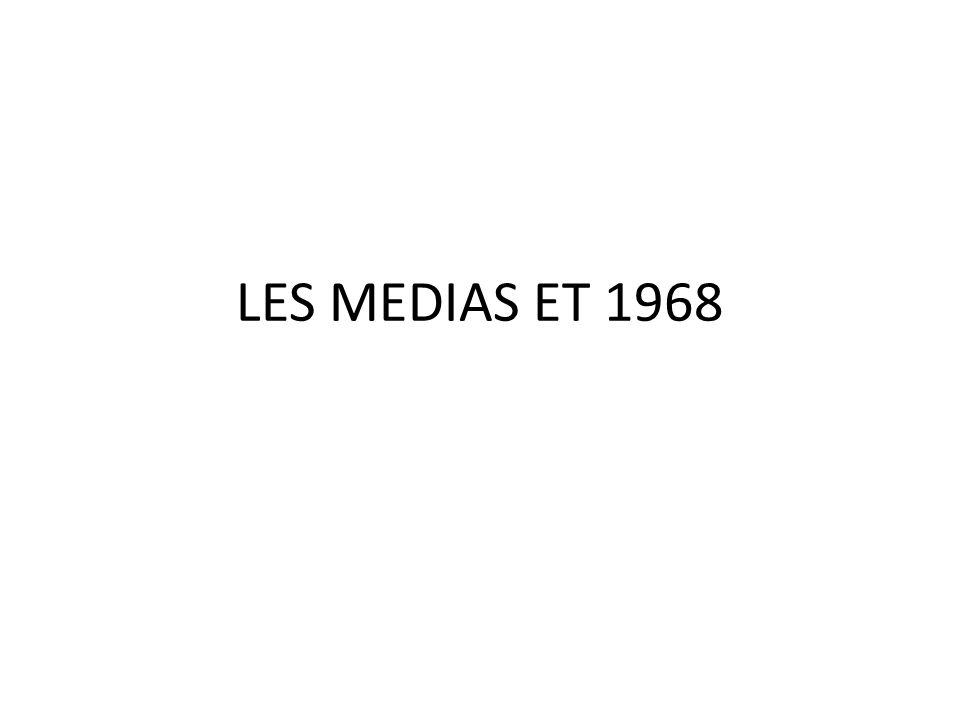 Les médias forment et informent lopinion