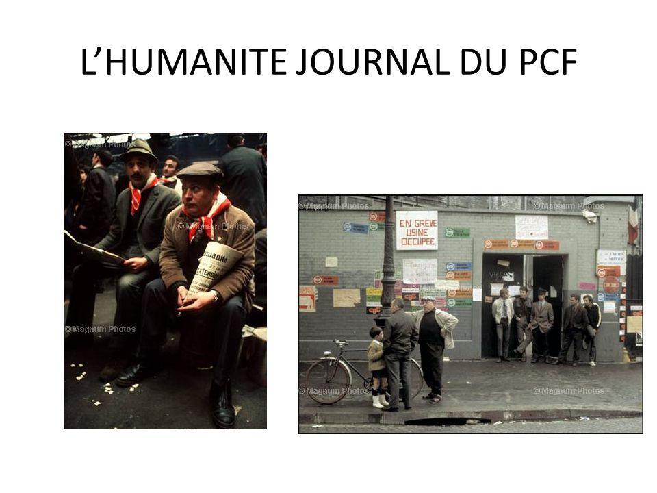 LHUMANITE JOURNAL DU PCF