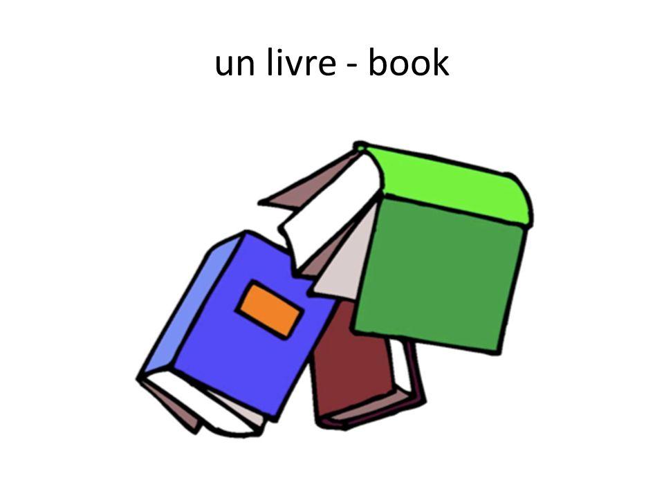 un livre - book
