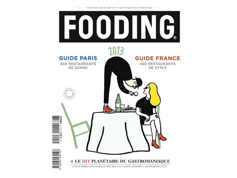 Néologisme inventé en 1999 par le Français Alexandre Cammas, journaliste épicurien chez Nova Magazine, le fooding résulte de la contraction des mots anglais food et feeling (sentiment) Le fooding est un Nouvel « ART » de la table