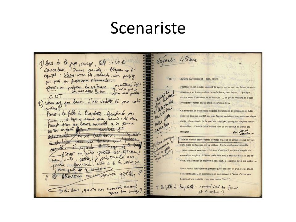 Scenariste