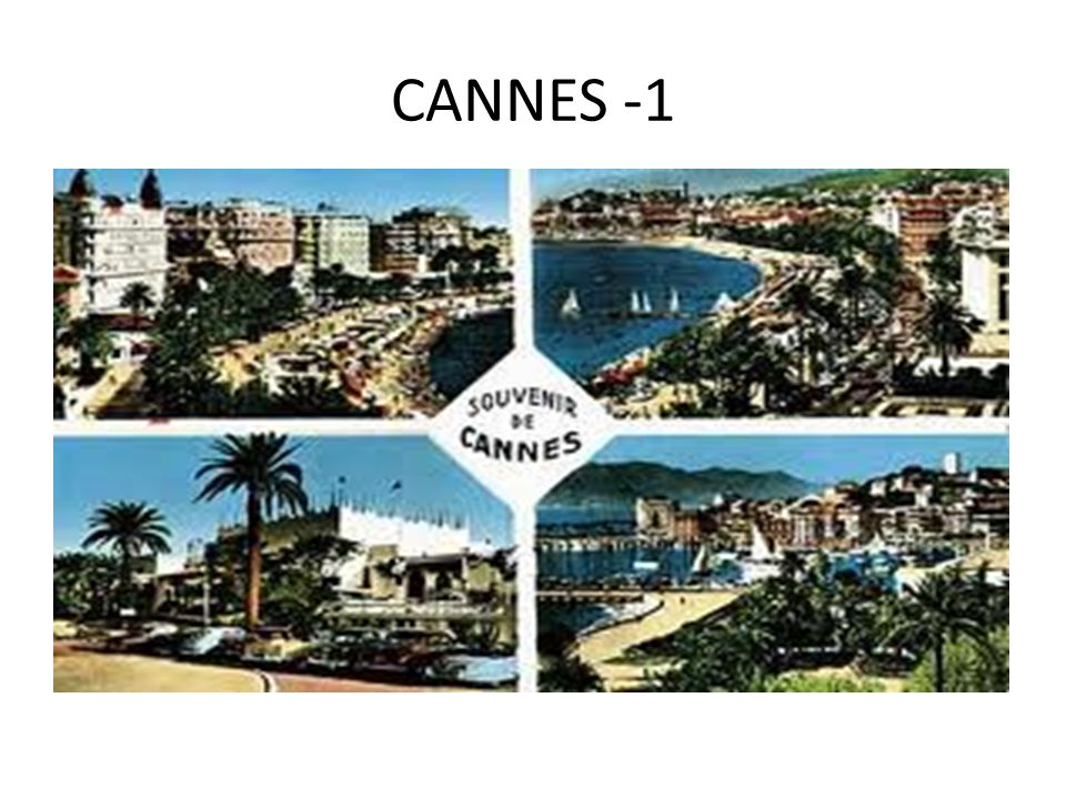 CANNES -1