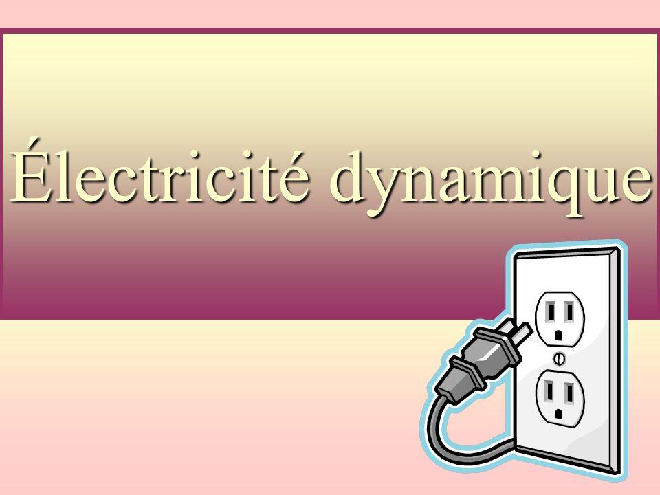 Exercice: Un courant de 5,00A circule dans le moteur dun réfrigérateur branché à une prise murale ( de 120 V).