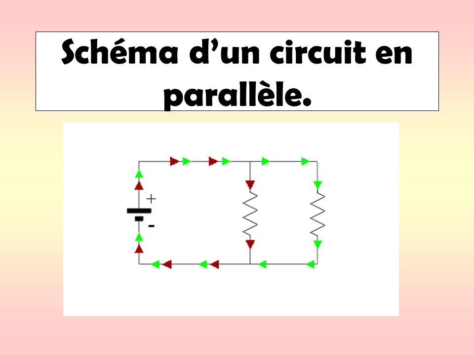 Schéma dun circuit en parallèle.