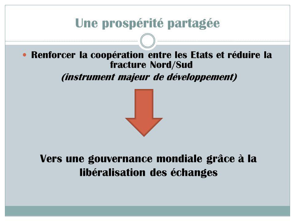 III- Vers une mondialisation durable et équitable ? LES ALTERNATIVES