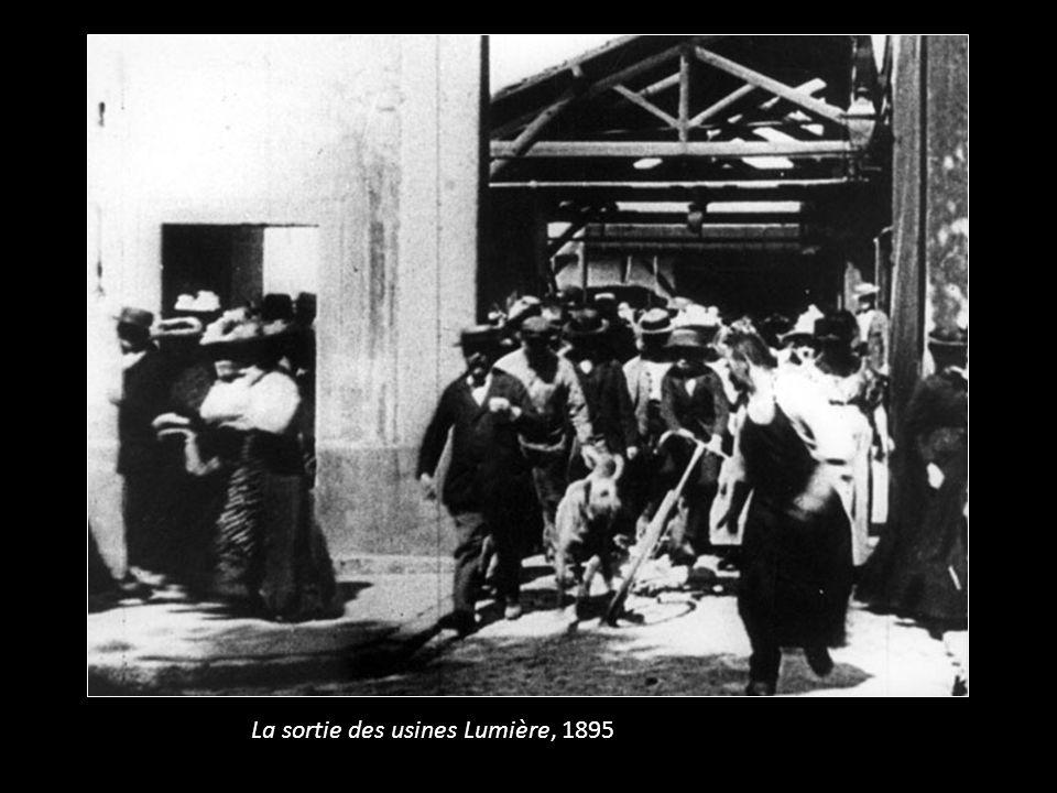 La sortie des usines Lumière, 1895