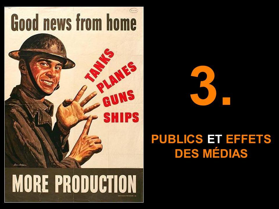 3. PUBLICS ET EFFETS DES MÉDIAS