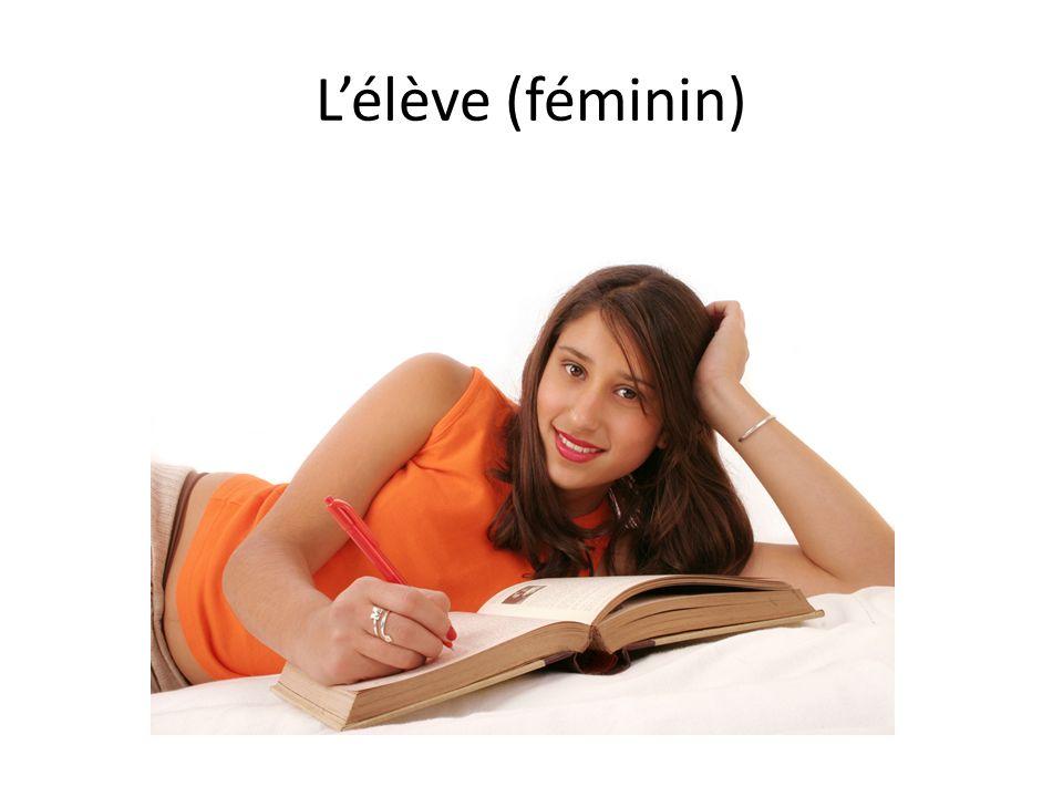 Lélève (féminin)
