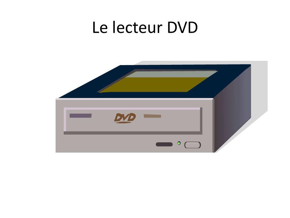 Le lecteur DVD