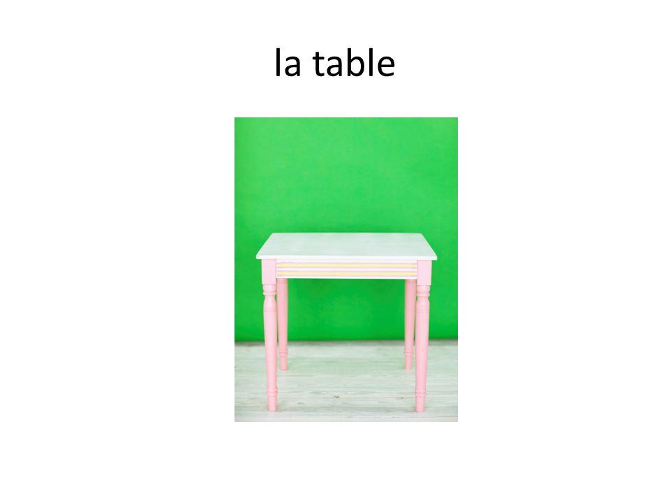 Correspondances 1.Le bureau 2.Lordinateur 3.La table 4.Le tableau 5.Le taille-crayon A B C D E