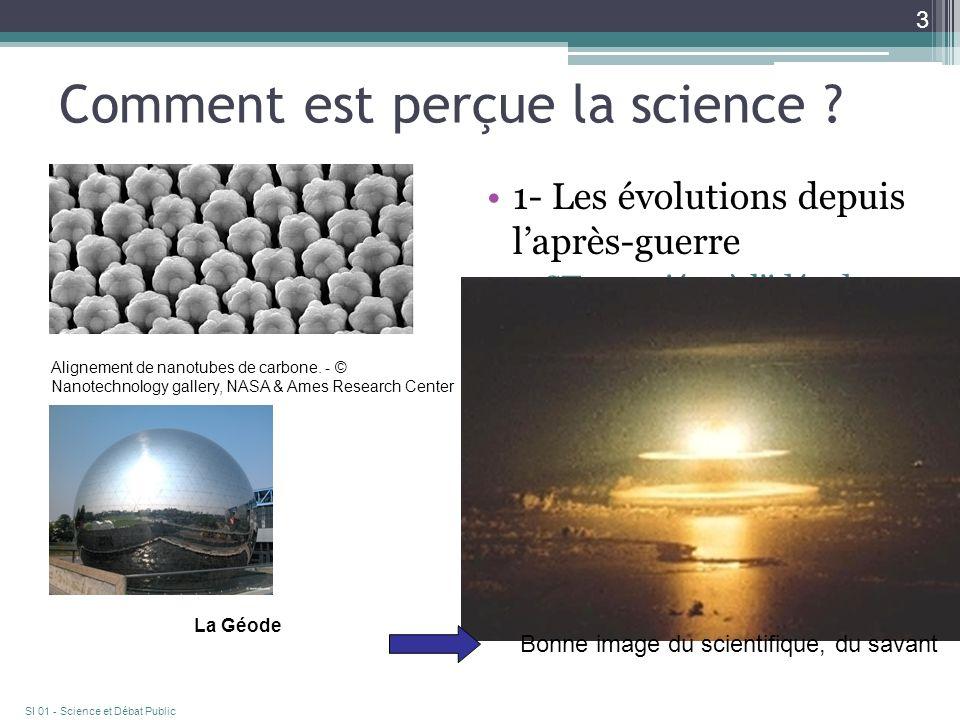 Comment est perçue la science .