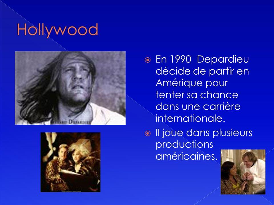 Catherine Deneuve et Gérard Depardieu dans