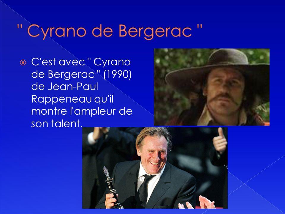 En 1990 Depardieu décide de partir en Amérique pour tenter sa chance dans une carrière internationale. Il joue dans plusieurs productions américaines.