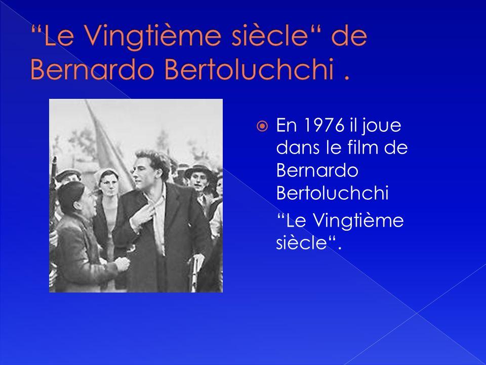 Bertran Blier invite Gérard Depardieu au tableau Les Valseuses