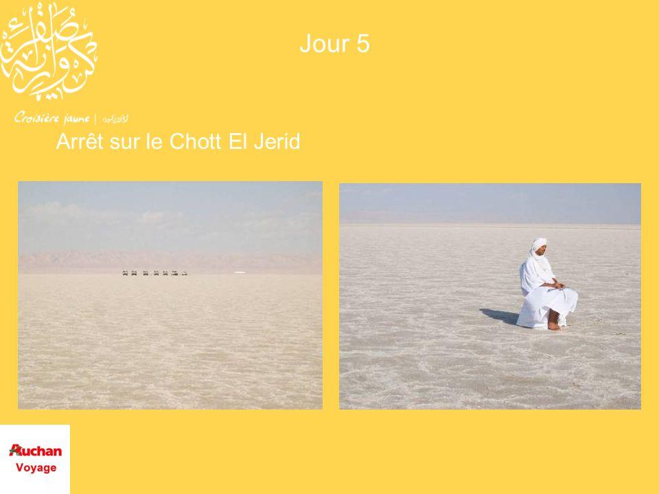 Arrêt sur le Chott El Jerid Jour 5