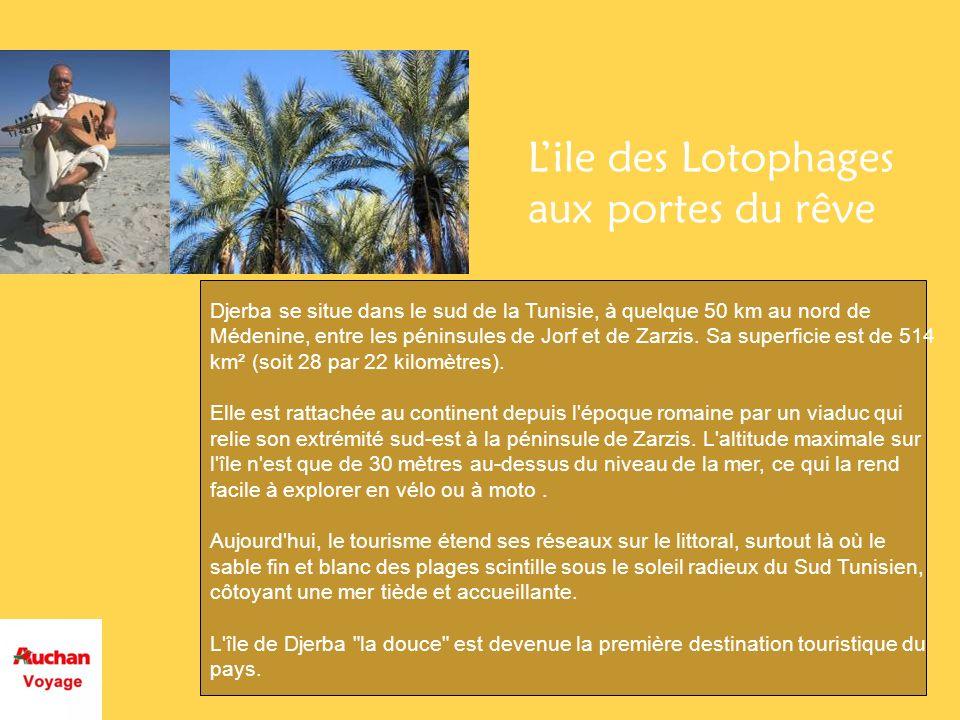 Ce prix comprend: - Le vol aller-retour en Charter au départ de Paris -7 Nuit en hébergements base twin -Les repas dîner au Dar et chez lhabitant ( ou similaire) -Les déjeuners -Les forfaits boissons dans la partie hôtelière et chez lhabitant (selon lhôte) -Laccueil à laéroport -La méharée dans les dunes de Sabia -Les transferts aéroports -Les trajets en 4X4 -La traversée Tozeur Gabès avec Road book -La visite de Tozeur -Visite de Nefta en calèche -Tour de lîle de Djerba -Visite du souk dHoumt Souk Ce prix ne comprend pas: -Lassistance rapatriement -Les extra -Les dépenses personnelles -Les pourboires -Le supplément single -Le forfait boisson dans les Dar et chez lhabitant (selon lhôte)