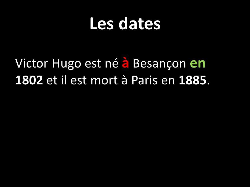 Qui est Victor Hugo.