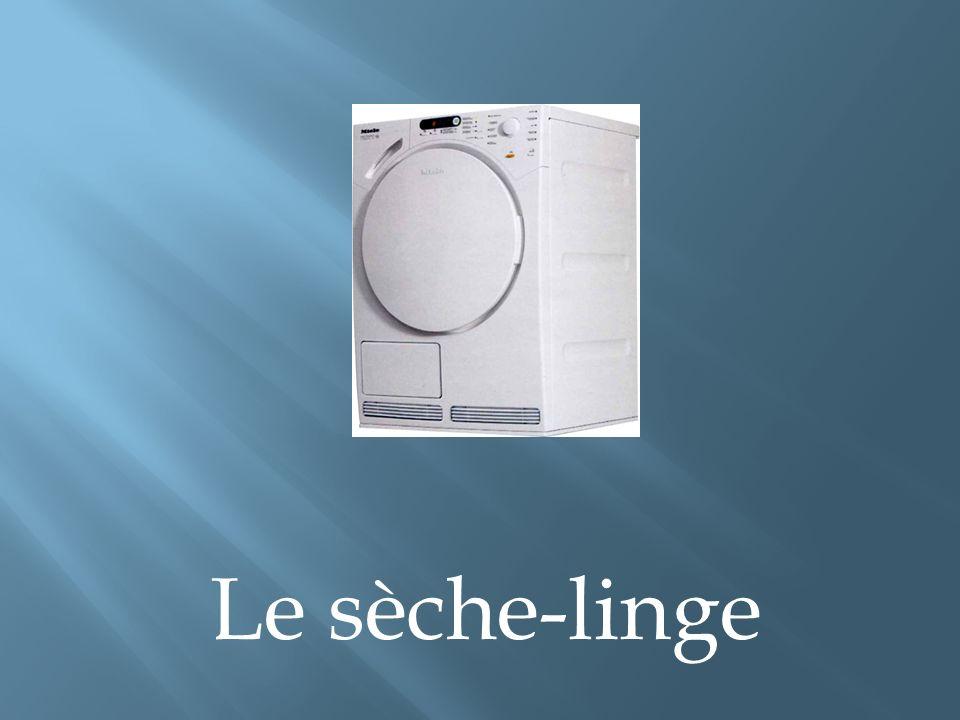 Le sèche-linge