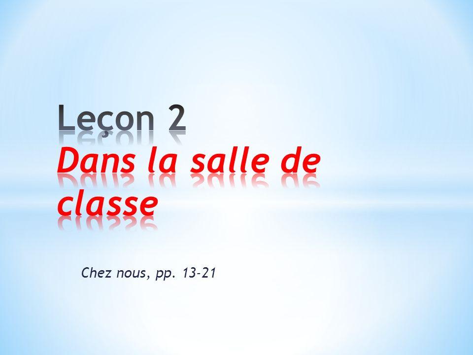 Chez nous, pp. 13-21