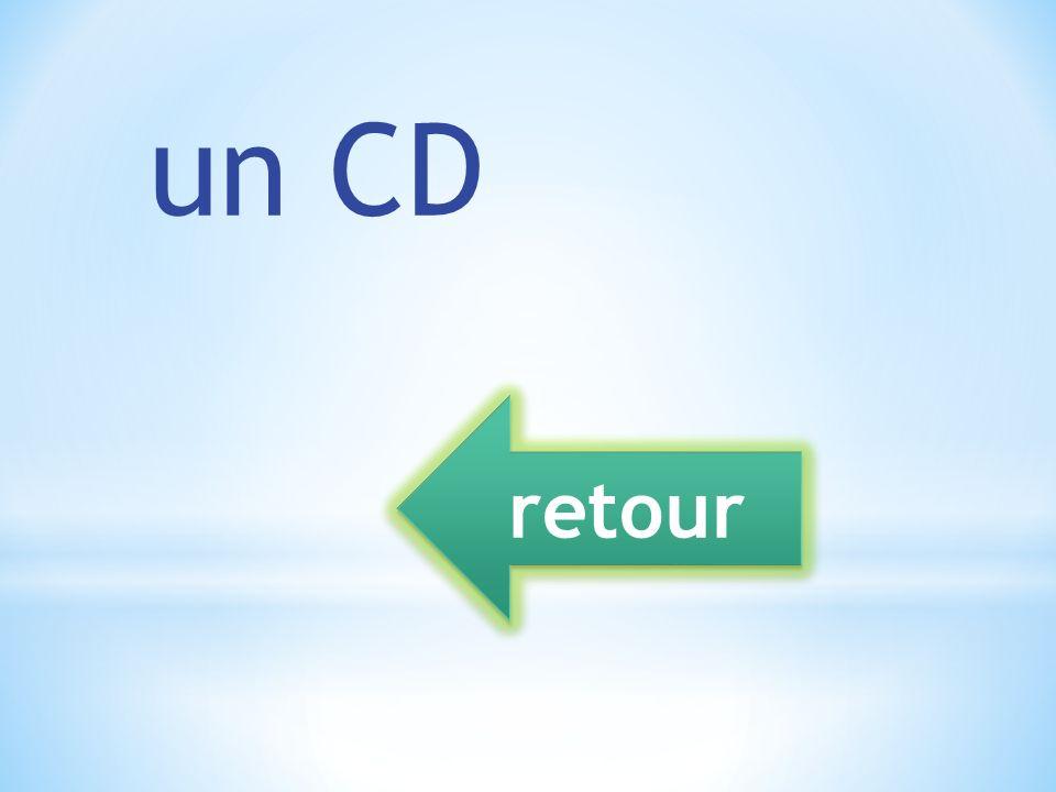 un CD retour