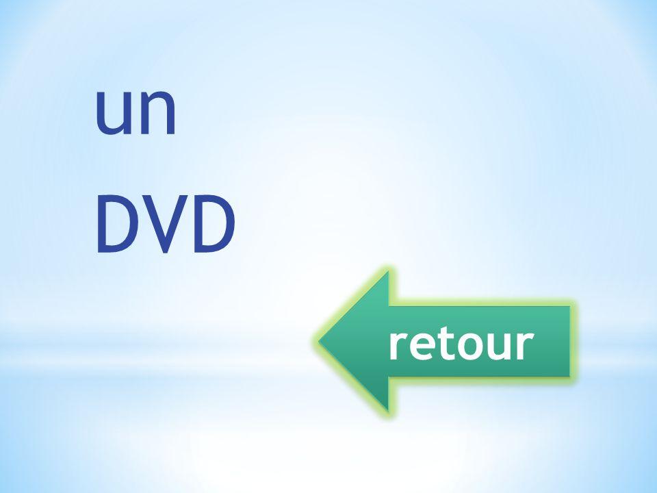 un DVD retour