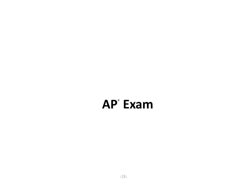 AP ® Exam 18