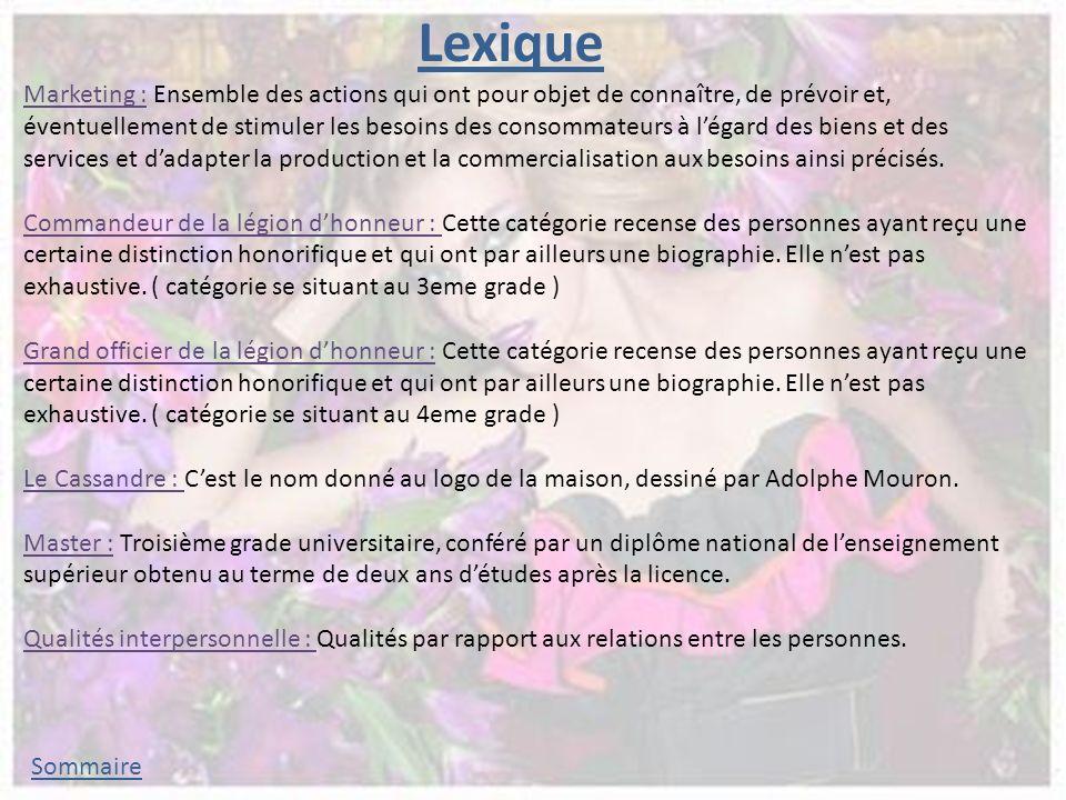 Lexique Marketing : Ensemble des actions qui ont pour objet de connaître, de prévoir et, éventuellement de stimuler les besoins des consommateurs à légard des biens et des services et dadapter la production et la commercialisation aux besoins ainsi précisés.