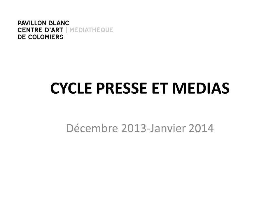 1 ère SEANCE -MEDIA(S) : CEST QUOI? -AGENCE DE PRESSE -PRESSE : HISTORIQUE/EVOLUTION