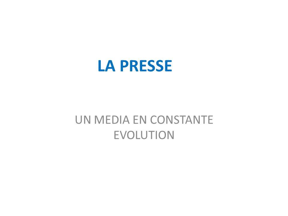 LA PRESSE ECRITE : PETIT HISTORIQUE Née au XVIIème siècle en France, cela fait presque 400 ans que la presse écrite existe.