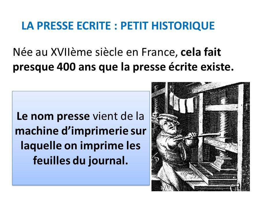 Au XVIIème SIECLE: Peu de lecteurs car il y a peu de tirages (impressions), la majorité des français ne savent pas lire.