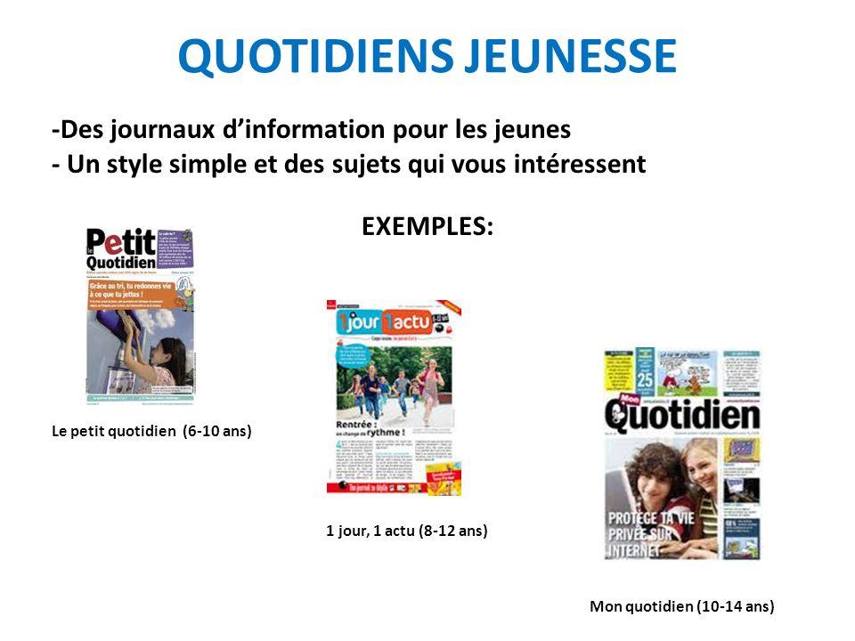 LES JOURNAUX GRATUITS Arrivés depuis 2002 en France Distribution le matin à lentrée des gares, des stations de métro… Importance de la publicité qui finance le coût du journal Problème: Ils concurrencent les journaux payants