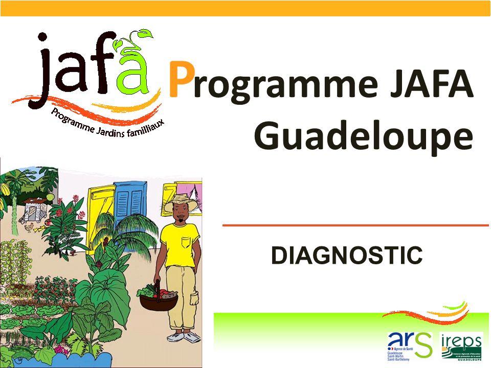 DIAGNOSTIC rogramme JAFA Guadeloupe P