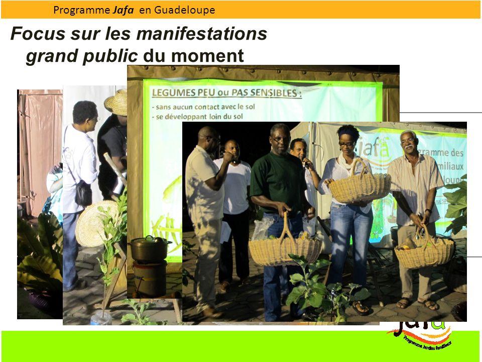 Programme Jafa en Guadeloupe Déroulement : Poème illustré par la projection dun diaporama Animation autour des traditions du Jardin Créole avec J.C. G