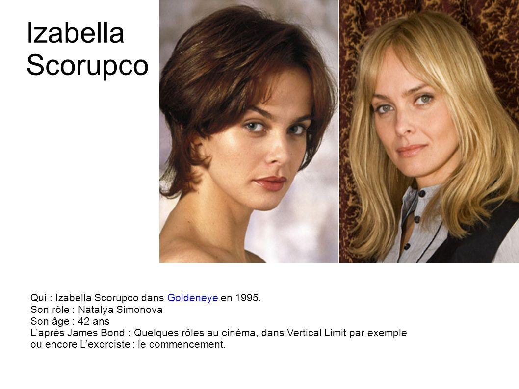 Carey Lowell Qui : Carey Lowell dans Permis de tuer en 1989. Son rôle : Pam Bouvier Son âge : 51 ans Laprès James Bond : Une carrière discrète avec qu
