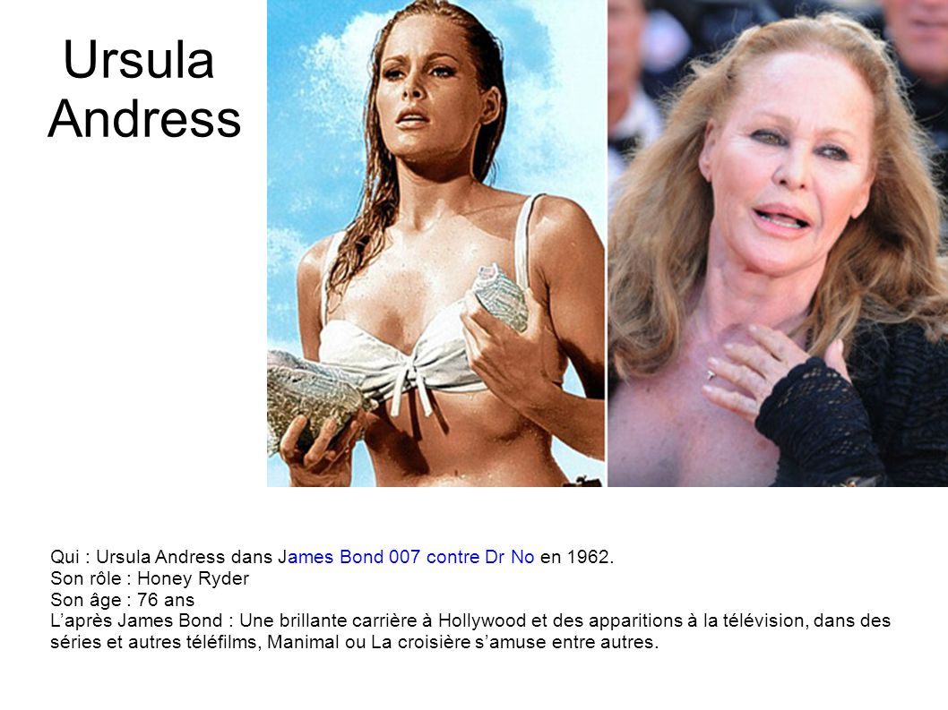 James Bond Girls : que sont-elles devenues ?