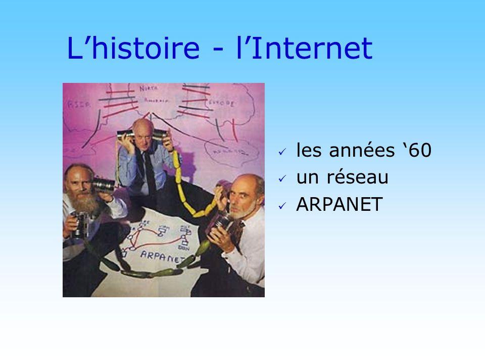 © DN Lhistoire - lInternet les années 60 un réseau ARPANET
