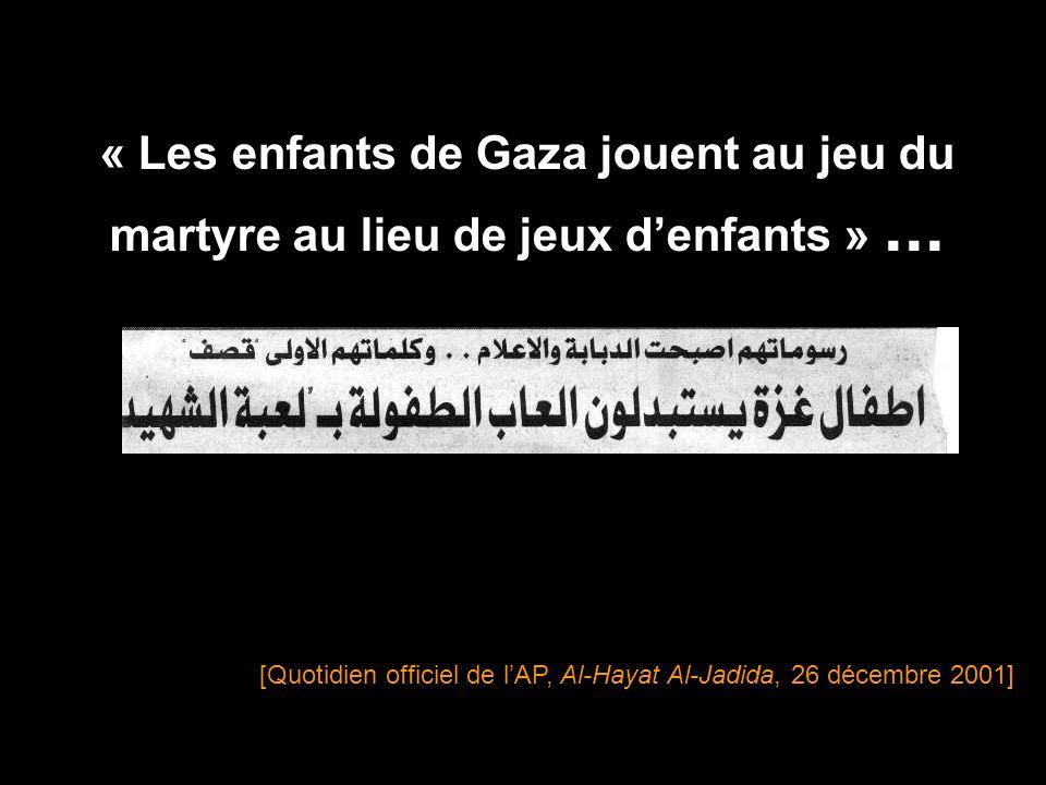 Des enfants de 10, 11 et 12 ans senfuient pour devenir des martyres.
