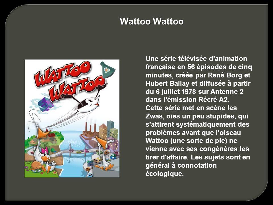 Une série télévisée française d'animation. Cette série de vulgarisation scientifique et historique a été créée par Albert Barillé pour les studios Pro