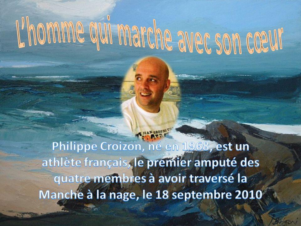 Miracle de la volonté, au terme de plus de cent heures danesthésies et dopérations, Philippe CROIZON réussira à marcher, à conduire et même à refaire de la plongée sous-marine, son sport favori